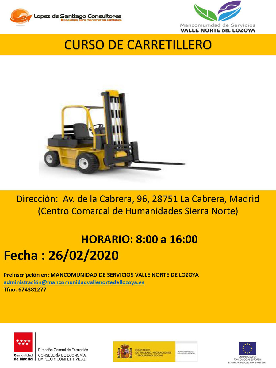 CURSO CARRETILLERO feb 2020